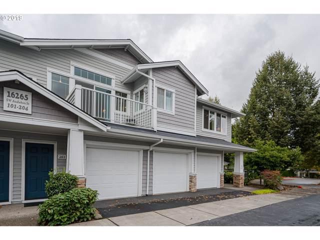 16265 SW Audubon St #203, Beaverton, OR 97003 (MLS #19326856) :: Next Home Realty Connection