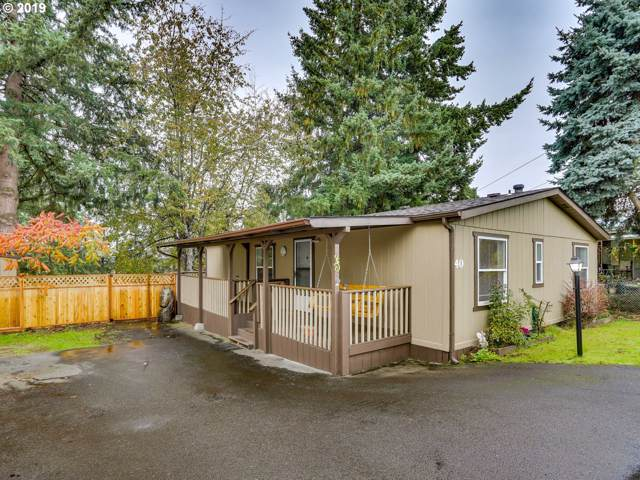 35440 SE Highway 211 #40, Boring, OR 97009 (MLS #19327604) :: Townsend Jarvis Group Real Estate