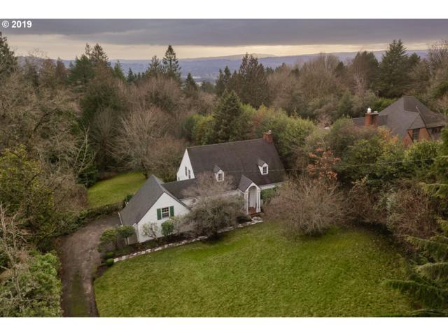5032 SW Hilltop Ln, Portland, OR 97221 (MLS #19369776) :: R&R Properties of Eugene LLC