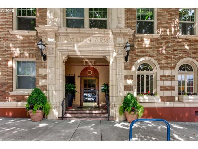709 SW 16TH Ave #302, Portland, OR 97205 (MLS #19380299) :: Townsend Jarvis Group Real Estate