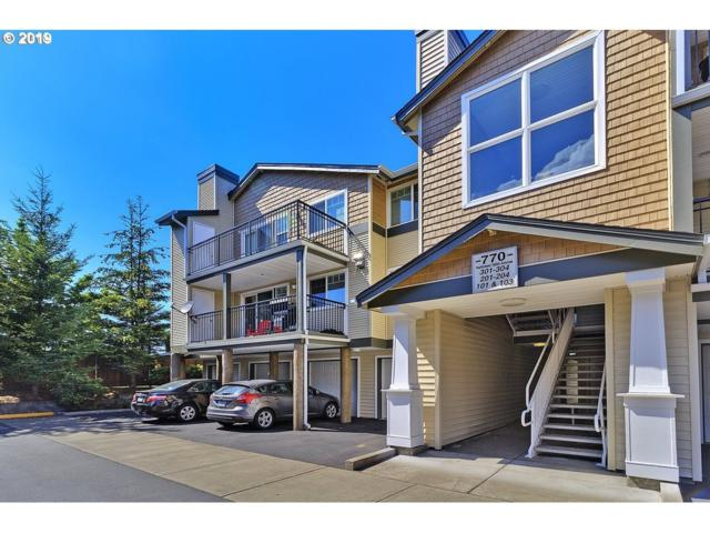 770 NW 185TH Ave #202, Beaverton, OR 97006 (MLS #19433340) :: Change Realty