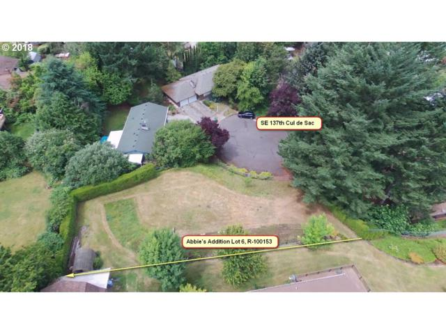 0 SE 137TH Ave #6, Portland, OR 97236 (MLS #19451008) :: The Liu Group