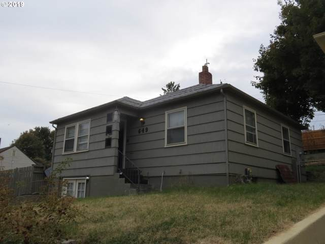 649 NW 8TH St, Pendleton, OR 97801 (MLS #19508300) :: Townsend Jarvis Group Real Estate