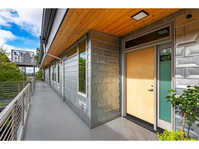 4216 N Mississippi Ave #403, Portland, OR 97217 (MLS #19538011) :: Song Real Estate