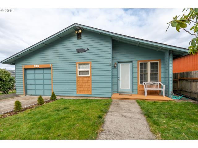 318 NW 55TH St, Newport, OR 97365 (MLS #19584091) :: Lucido Global Portland Vancouver