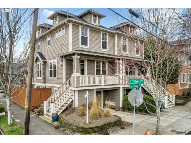 89 NE Shaver St, Portland, OR 97212 (MLS #19588903) :: Townsend Jarvis Group Real Estate