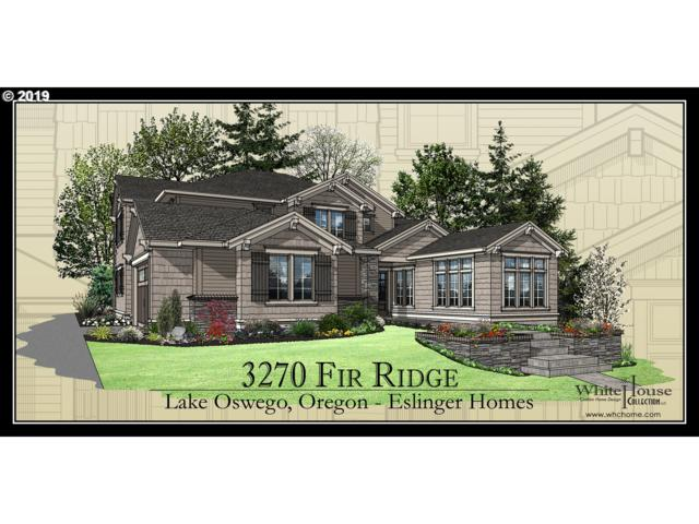 3270 Fir Ridge Rd, Lake Oswego, OR 97035 (MLS #19649404) :: Territory Home Group