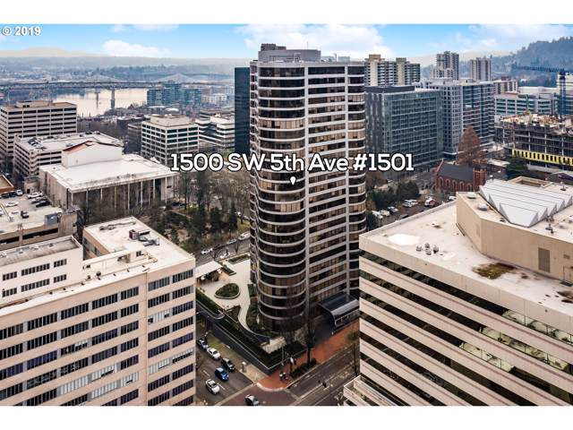 1500 SW 5TH Ave #1501, Portland, OR 97201 (MLS #19698059) :: TK Real Estate Group