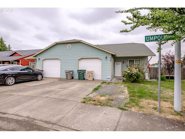 847 Umpqua St, Harrisburg, OR 97446 (MLS #20057980) :: Beach Loop Realty