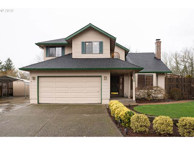6650 SW Wisteria Pl, Beaverton, OR 97008 (MLS #20064281) :: Townsend Jarvis Group Real Estate