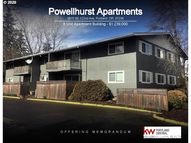 3815 SE 122ND Ave, Portland, OR 97236 (MLS #20070922) :: Townsend Jarvis Group Real Estate