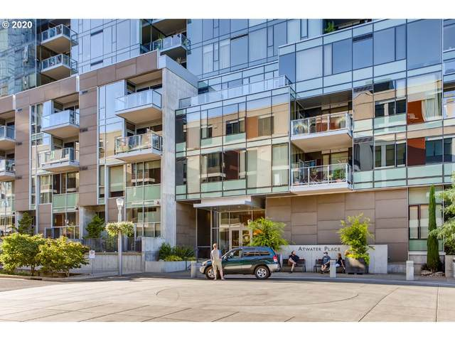 841 SW Gaines St #1802, Portland, OR 97239 (MLS #20103448) :: McKillion Real Estate Group