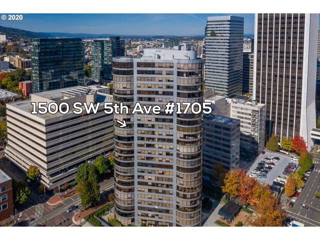 1500 SW 5TH Ave #1705, Portland, OR 97201 (MLS #20118313) :: Change Realty