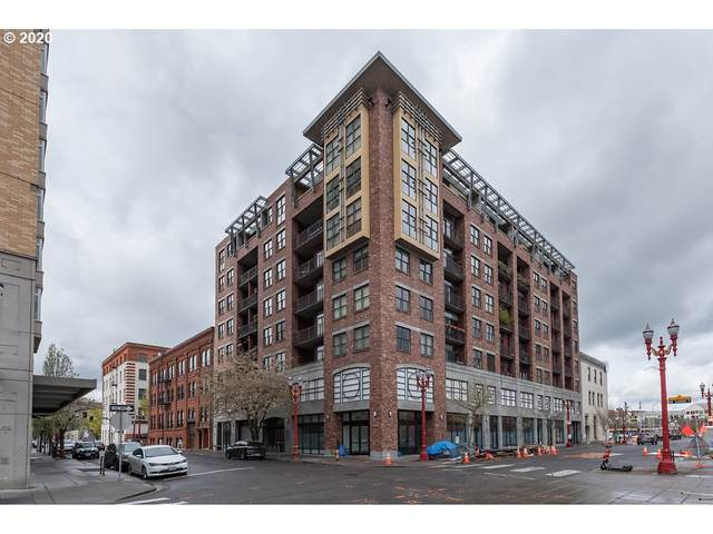 411 NW Flanders St #609, Portland, OR 97209 (MLS #20252213) :: The Liu Group