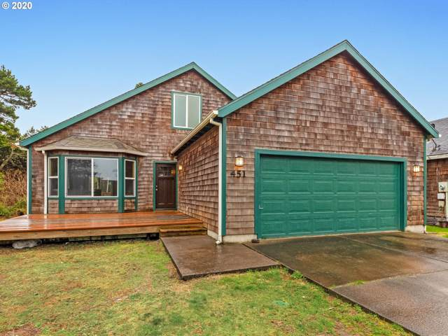451 17th Ave, Seaside, OR 97138 (MLS #20274601) :: The Liu Group