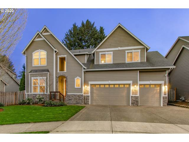13050 SW Caspian Ct, Beaverton, OR 97008 (MLS #20306998) :: McKillion Real Estate Group