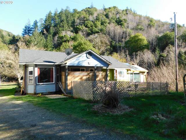 39507 Hwy 101, Port Orford, OR 97465 (MLS #20360974) :: Beach Loop Realty