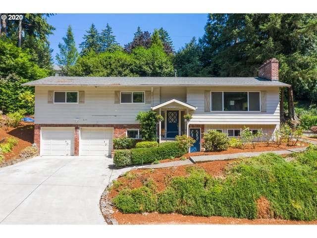 825 SW Burlingame Ter, Portland, OR 97239 (MLS #20389282) :: Beach Loop Realty