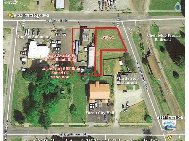 210 N Railroad Ave, Yacolt, WA 98675 (MLS #20522390) :: Change Realty