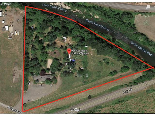 985 SE Sheridan Rd, Sheridan, OR 97378 (MLS #20642299) :: Townsend Jarvis Group Real Estate