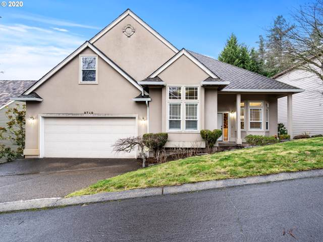 9749 NW Caxton Ln, Portland, OR 97229 (MLS #20665637) :: The Liu Group