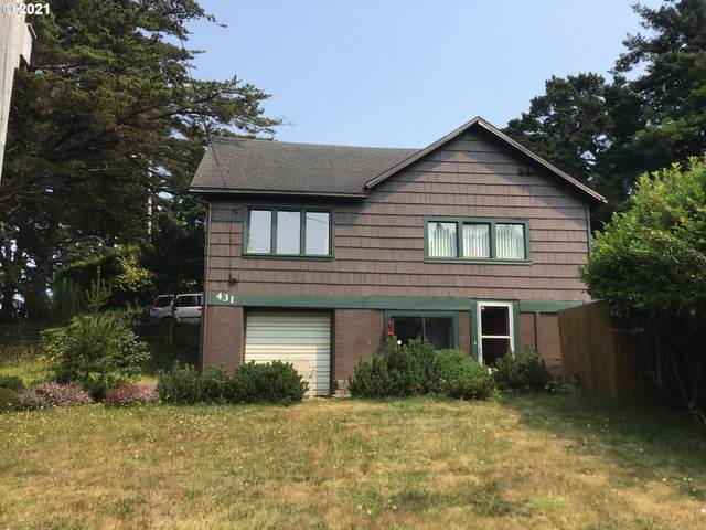 431 Seventh St, Port Orford, OR 97465 (MLS #21011013) :: Song Real Estate