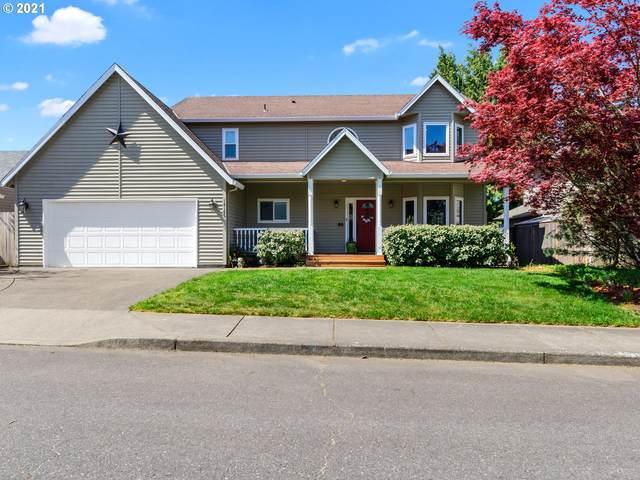 14165 SE Frontier Ave, Clackamas, OR 97015 (MLS #21017190) :: Premiere Property Group LLC