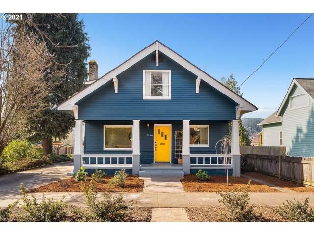9426 N Willamette Blvd, Portland, OR 97203 (MLS #21034485) :: Beach Loop Realty