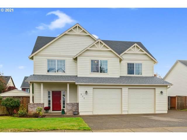 860 Eisenhower Dr NW, Salem, OR 97304 (MLS #21036102) :: Brantley Christianson Real Estate