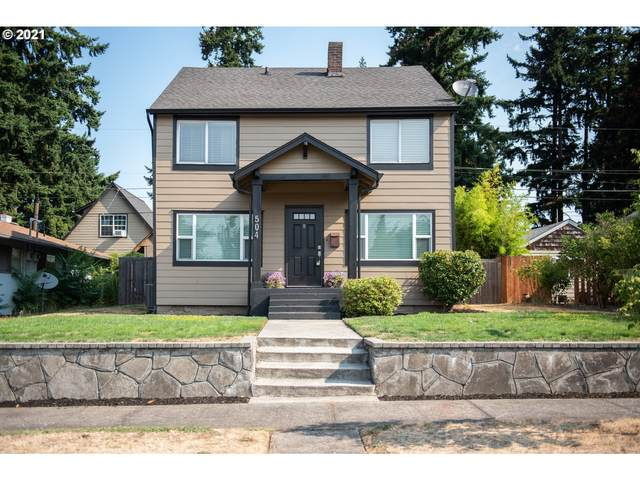 504 W 31ST St, Vancouver, WA 98660 (MLS #21041592) :: Townsend Jarvis Group Real Estate