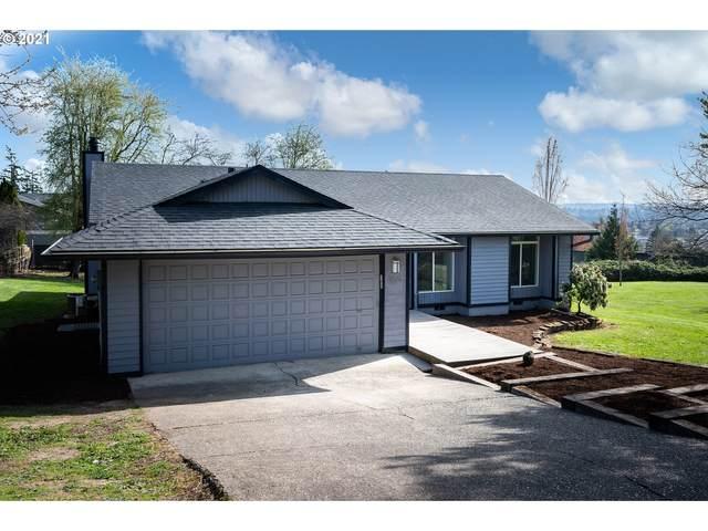 9170 SE Lynn Ln, Happy Valley, OR 97086 (MLS #21043029) :: Holdhusen Real Estate Group
