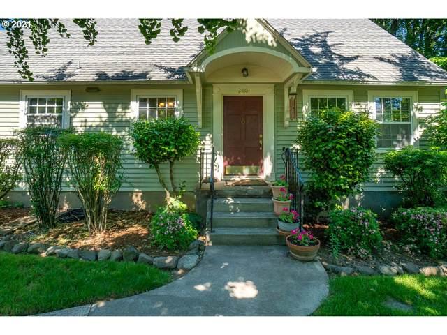 2480 SW Crestdale Dr, Portland, OR 97225 (MLS #21045271) :: Premiere Property Group LLC
