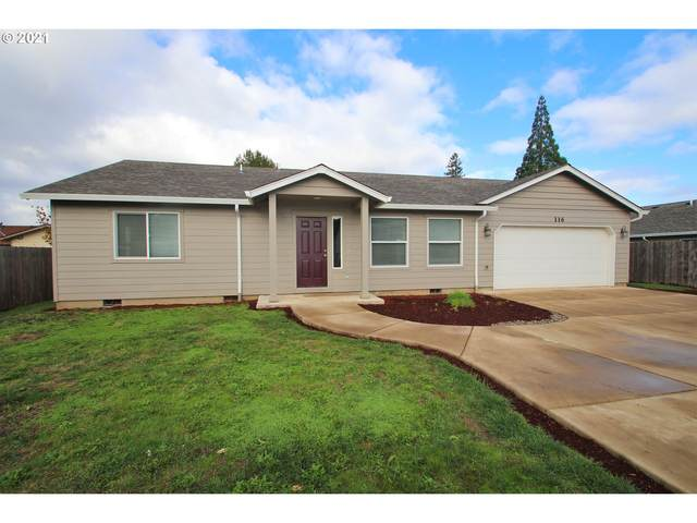 116 E 6TH St, Molalla, OR 97038 (MLS #21047194) :: Lux Properties
