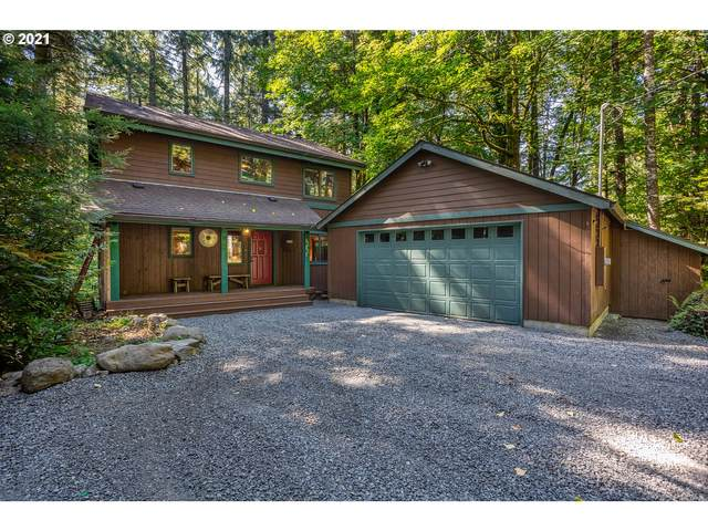 70494 E Terrace Dr, Rhododendron, OR 97049 (MLS #21051925) :: Lux Properties