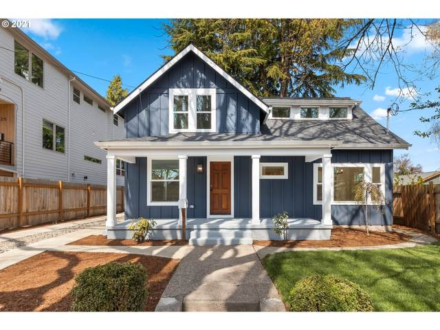 1335 SE Lambert St, Portland, OR 97202 (MLS #21053093) :: The Pacific Group