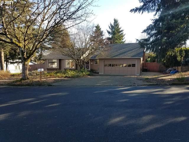 11600 SW Welch Ter, Beaverton, OR 97008 (MLS #21053910) :: Brantley Christianson Real Estate