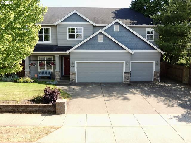 2671 NW Pinot Noir Dr, Mcminnville, OR 97128 (MLS #21061028) :: Beach Loop Realty