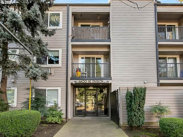 6600 SE Division St #301, Portland, OR 97206 (MLS #21081669) :: Real Estate by Wesley