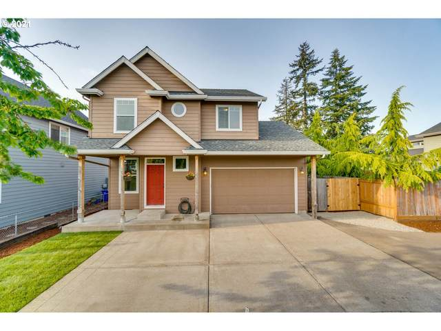 156 Fenton Ave, Molalla, OR 97038 (MLS #21091987) :: Premiere Property Group LLC