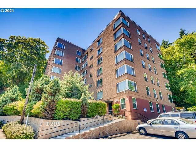 1205 SW Cardinell Dr #203, Portland, OR 97201 (MLS #21112115) :: Duncan Real Estate Group