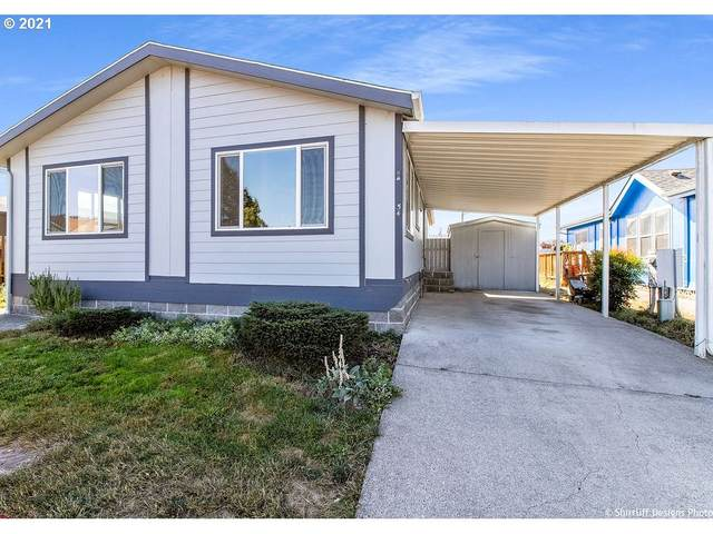 3200 Oak Terrace Dr #54, Lebanon, OR 97355 (MLS #21129179) :: Real Estate by Wesley