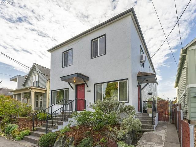 3530 SE Taylor St, Portland, OR 97214 (MLS #21130469) :: Song Real Estate
