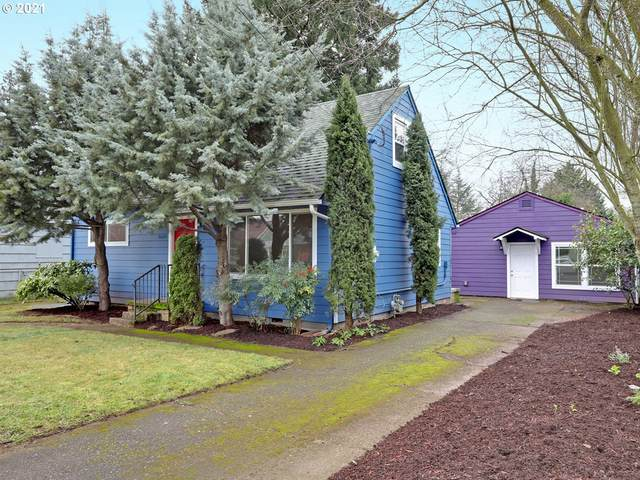 10610 SE Boise St, Portland, OR 97266 (MLS #21131343) :: Holdhusen Real Estate Group