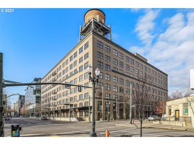 1420 NW Lovejoy St #605, Portland, OR 97209 (MLS #21133779) :: Lux Properties