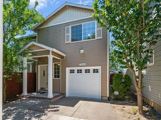 7424 SE Henderson St #6, Portland, OR 97206 (MLS #21134772) :: Oregon Farm & Home Brokers