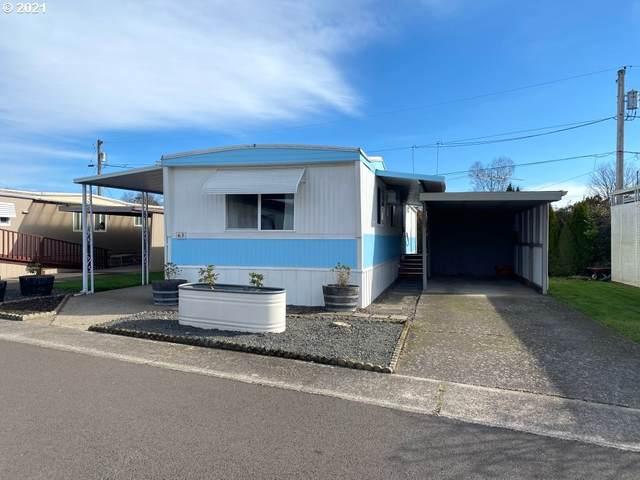 501 Division Ave #63, Eugene, OR 97404 (MLS #21135316) :: Song Real Estate