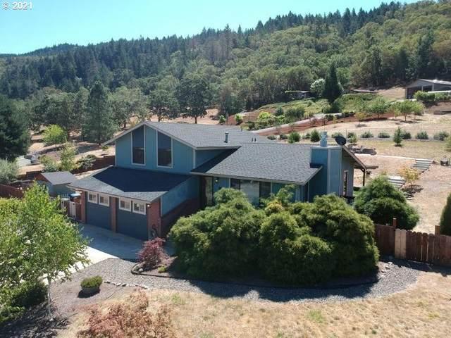596 Wood Crest Dr, Myrtle Creek, OR 97457 (MLS #21143233) :: Holdhusen Real Estate Group
