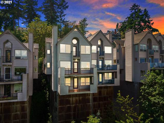 1673 SW Montgomery Dr C, Portland, OR 97201 (MLS #21162636) :: The Liu Group