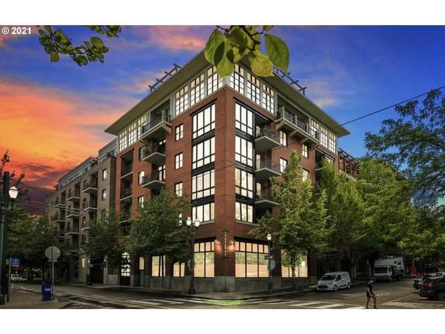 1030 NW Johnson St #424, Portland, OR 97209 (MLS #21163763) :: The Liu Group