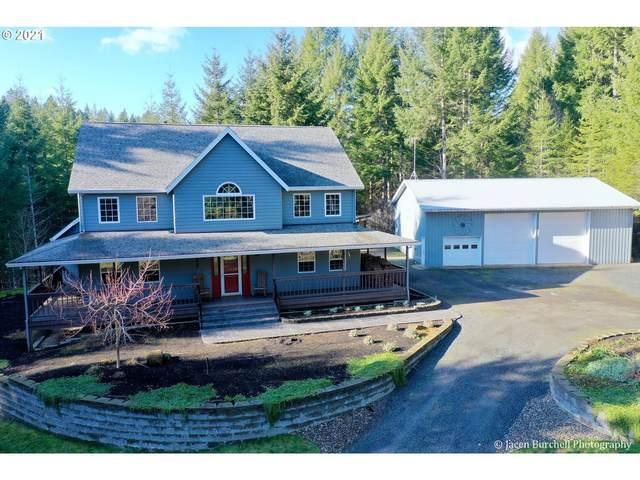 58483 Cedar Creek Rd, Scappoose, OR 97056 (MLS #21170902) :: Premiere Property Group LLC